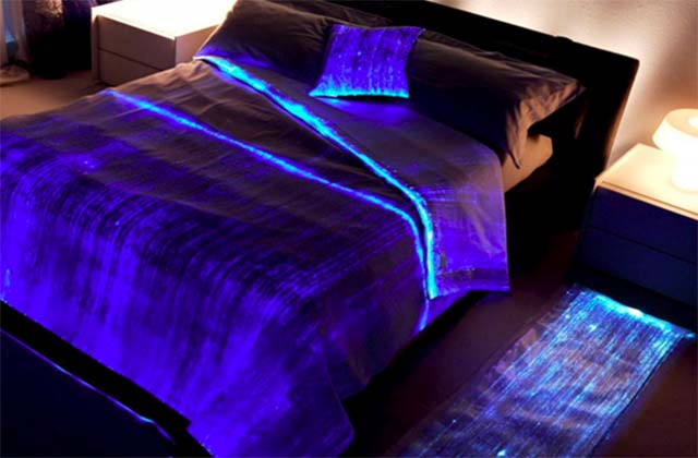 Fiber Optic Bedspread