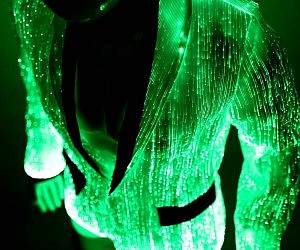 Light Up Fiber Optic Jacket