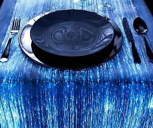 Fiber Optic Table Runner