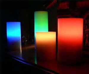 Flameless Color Changing Candles