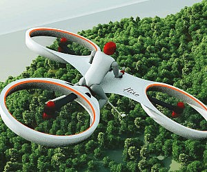 Electric Personal Tricopter