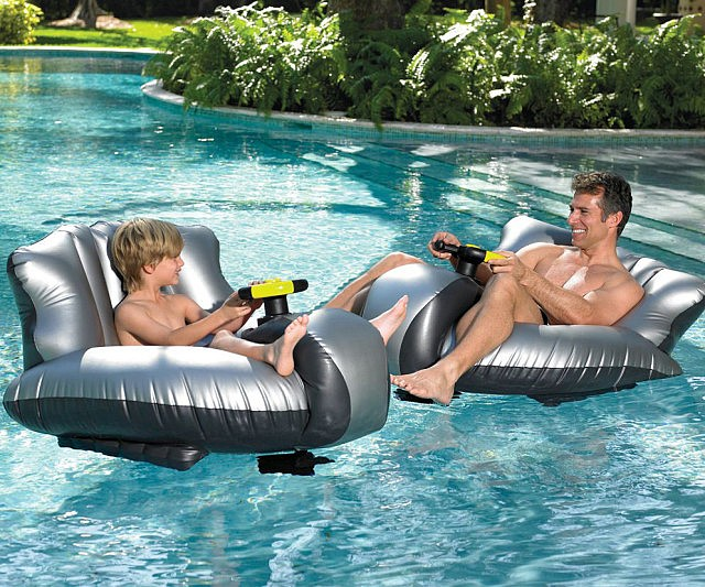 Motorized Floating Bumper Cars