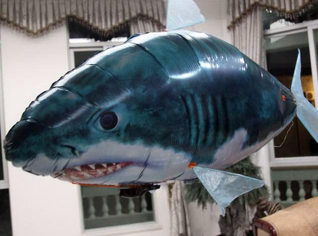 Flying Radio Control Shark