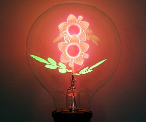Flower Filament Light Bulbs