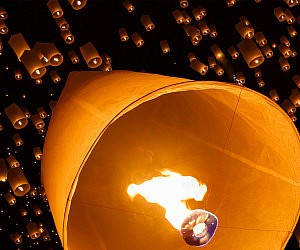 Chinese Flying Lanterns