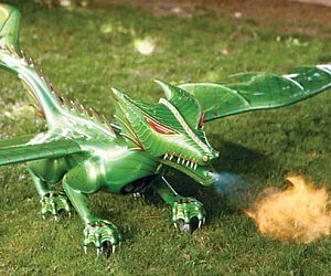 R/C Flying Fire Breathing Dragon