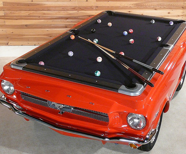 ford-mustang-pool-table