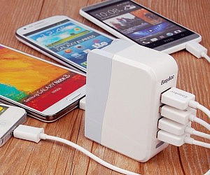 Four Port USB Wall Charger