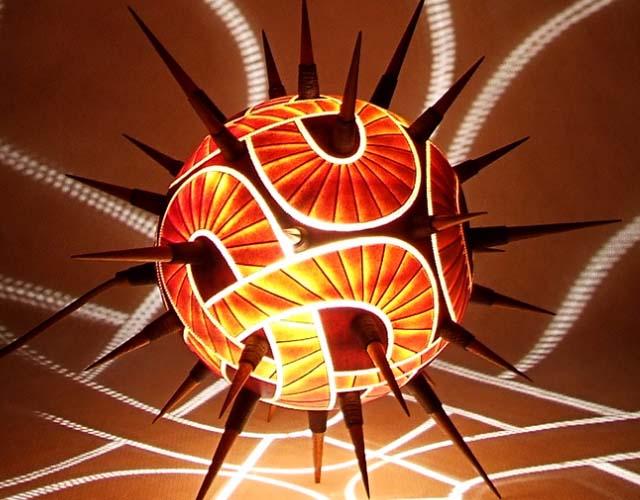 Fractal Lamp Shades