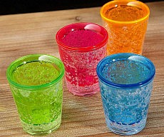 Freezable Gel Shot Glasses