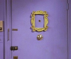 friends-yellow-frame-peephole