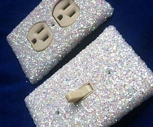 Glitter Switchplate Cover