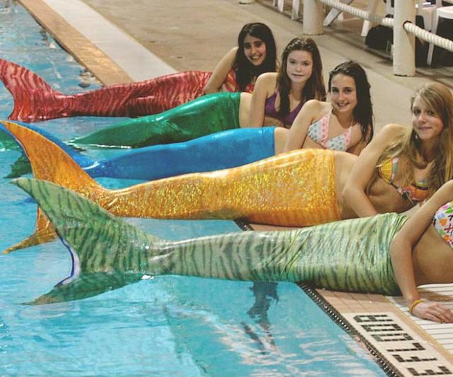 Functional Mermaid Tails