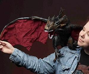 Game Of Thrones Dragon Plushie