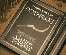 Dothraki Language Instructional Book