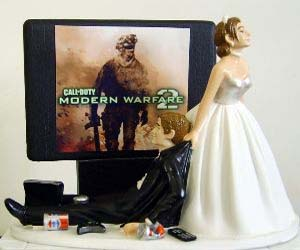 gamer-wedding-cake-topper