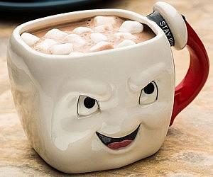 Ghostbusters Marshmallow Face Mug