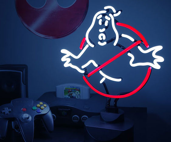 Ghostbusters Neon Light