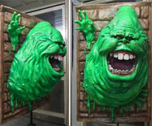 ghostbusters-slimer-sculpture
