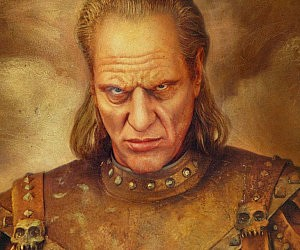 Ghostbusters Vigo Replica Painting