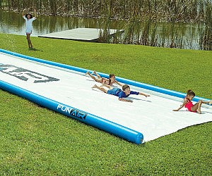 Giant 50 Foot Slip And Slide