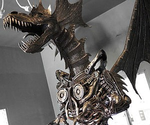 Giant Metal Dragon