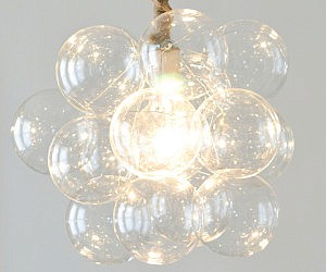 Glass Bubble Chandeliers