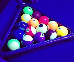 Glow In The Dark Pool Table Kit