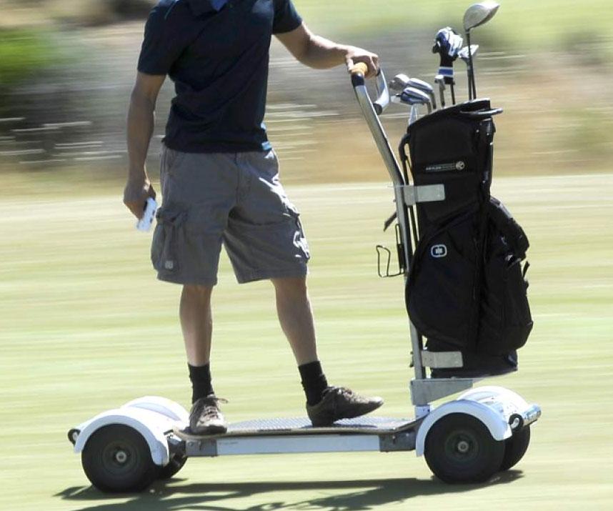 Golf skateboard