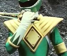 Green Power Ranger Costume