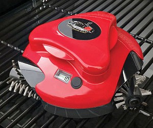 Barbecue Grill Cleaning Robot