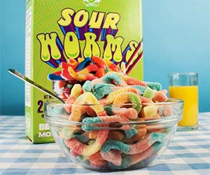 Gummy Worms Cereal
