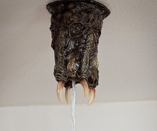 Sea Monster Ceiling Lamp