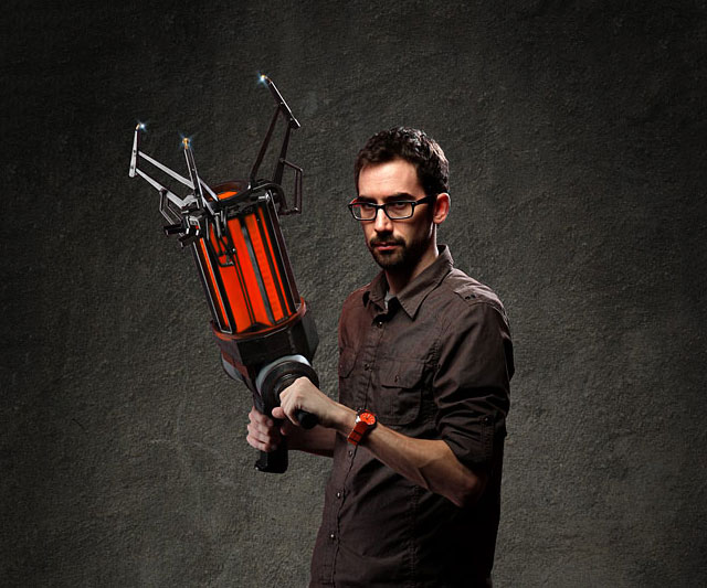 Half-Life Gravity Gun
