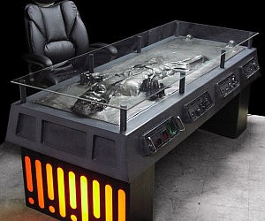 Frozen Han Solo Carbonite Desk