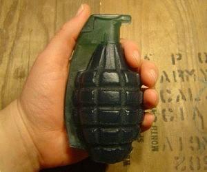 Hand Grenade Soap Bar