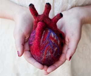 Hand Knit Hearts