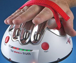 Hand Shocking Lie Detector