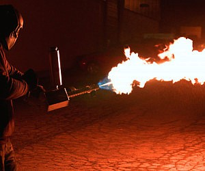 Handheld Flamethrower