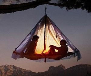 Hanging Tent Platform