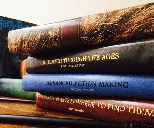 Harry Potter Schoolbook Covers