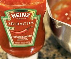 Sriracha Flavored Ketchup