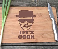 Heisenberg Cutting Board