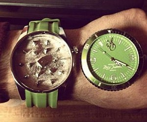 Herb Grinder Watch