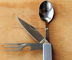 Multi Purpose Eating Utensil