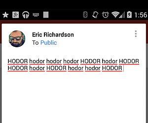 Hodor Keyboard App