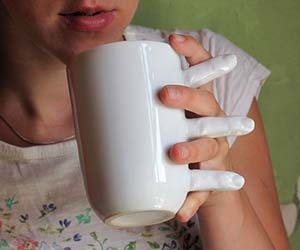 Holding Hands Coffee Mug