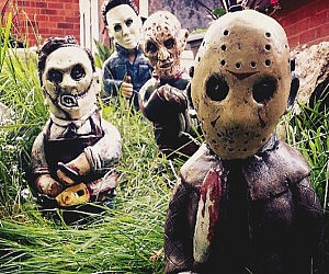 Horror Movie Garden Gnomes