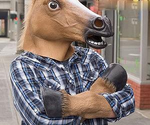 Human Horse Hooves