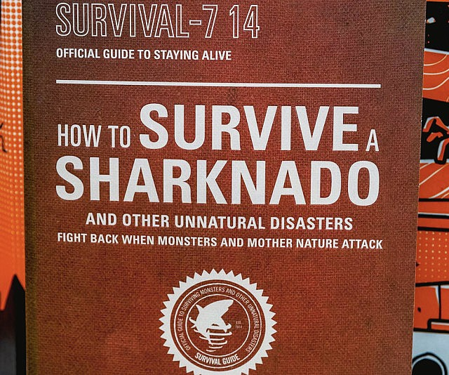 How To Survive A Sharknado Book